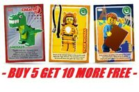 LEGO CARDS SAINSBURYS CREATE THE WORLD CARD ALL IN STOCK PICK / CHOOSE YOUR OWN