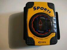 Curtis Sports AM FM Cassette Player RS66