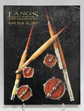 Langs FISHING Tackle AUCTION Catalog April 2007 Lures Reels Rods Vintage