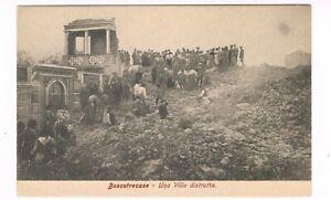 vesuvio eruzione boscotrecase  vesuvius disaster 1906 naples animata villa distr