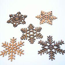 Adornos de copos de nieve para árbol de Navidad