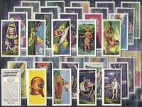 ANGLO AMERICAN CHEWING GUM-FULL SET- UNDERWATER ADVENTURE (40 CARDS) - EXC+++