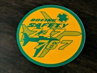 Boeing 747 767 NOS Bumper Sticker Decal