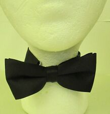 Black Tux Tuxedo bow tie Lot of 2  NEW