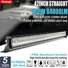 "7D+ 42Inch 560W lumiled Led Work Light Bar Spot Flood Driving Truck Lamp 43"" 44"""