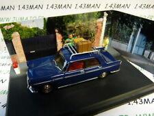 NB2E Car 1/43 ixo altaya Road Blue Diorama Peugeot 404 Départ Holidays