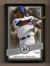 2016 TOPPS MUSEUM ADDISON RUSSELL ROOKIE BASEBALL CARD #34 - CUBS