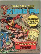 SHANG CHI corno 12 LA FIGLIA DELLE TENEBRE shang-chi maestro kung fu sons tiger