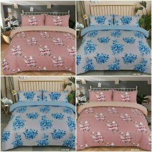 100% Brushed Cotton Flannelette Duvet Set Supreme Fabric Genuine Cotton UK Stock