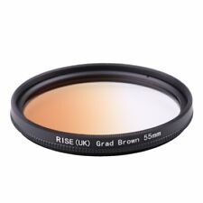 55mm Graduated Brown Color with Thread Mount Lens Filter for all Digital Camera