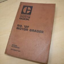 Cat Caterpillar 12f Motor Road Grader Parts Manual Book 13k Series Catalog List