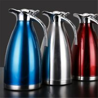Thermos Kettle Stainless Steel Coffee Pots Insulation Drink Water Bottle 1.5L#