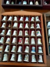 More details for assortment of of 114 sewing thimbles