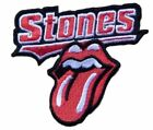 The Rolling Stones Tongue Logo 3 Tall Embroidered Iron on Patch