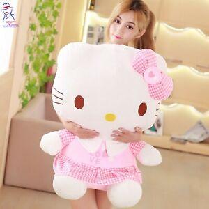 New women children kids Hello kitty cat plush soft cute teddy doll toy baby gift