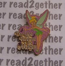 Disney Pin Magical Musical Moments #59 Tinker Bell Do You Believe in Magic