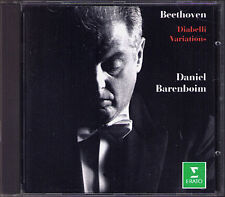 Daniel BARENBOIM: BEETHOVEN Diabelli Variations Op.120 Erato 1994 CD München
