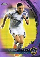 2014 Topps Chrome Major League Soccer - Base Purple Parallel - Pick (#1 - #19)
