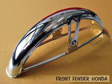 HONDA CB100 CB125 CB125S CB175 S90 CS90 S110 S110 FRONT FENDER CHROME NEW (sa)