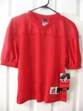 Alleson Athletics Youth Football Jersey - Sz: S/M -Red (Store Overstock)