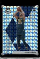2019-20 Panini Mosaic #225 GOGA BITADZE Silver Wave Prizm RC Rookie Card Pacers