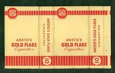 Old EMPTY cigarette packet Anstie Gold Flake   #274