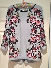 Ladies Oasis Stunning Top/Fine knit Jumper Size Small (8/10) New With Tags