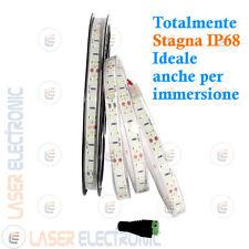 Striscia LED SMD5630 adatta per Acquari e Piscine Bianco Freddo 6500K 50w