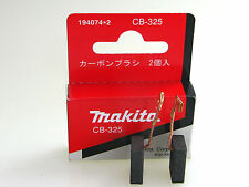 Hr2811ft MAKITA Spazzole cb-325 194074-2 originale per hr2810 hr2470 9565 H