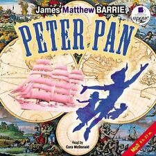 Peter Pan James Matthew Barrie audio book CD MP3 ( Language:ENGLISH)