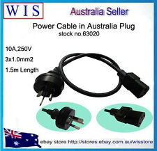 Australian 240V Power Cable Lead Cord 3-Pin,3x1.0mm2,1.5m,10A,250V-63020