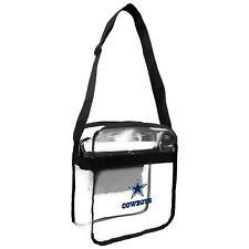 Dallas Cowboys Clear Carryall Crossbody Plastic Bag NFL Stadium Approved