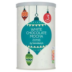 Sainsbury's White Chocolate Mocha Instant Coffee 252g NEW SHIP WORLDWIDE