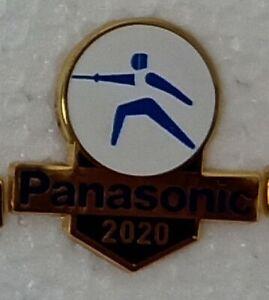 FENCING TOKYO 2020 PANASONIC OLYMPIC PIN