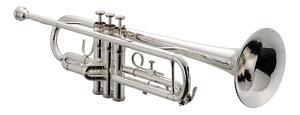 Brand New JUPITER Trumpet - JTR 700S in SILVER PLATE - SHIPS FREE WORLDWIDE
