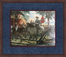 Mort Kunstler Oh, I Wish He Was Ours Civil War Print Custom Framed