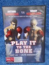 PLAY IT TO THE BONE ANTHONY BANDERAS WOODY HARRELSON DVD MA R4