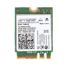 For Intel Wireless-AC 3160NGW Dual Band 2.4/5.8Ghz NGFF Bluetooth 4.0 Wifi Card