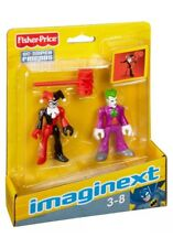 Imaginext DC Super Friends The Joker and Harley Quinn New! Cake Topper