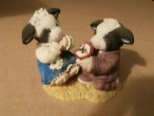 Enesco Mary's Moos Cow Proposing Figurine Will Moo (marry me) 468754 Engagement