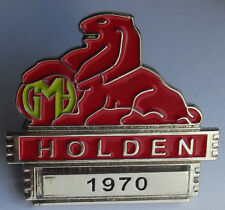 1970  HG Lion   Lapel / Hat pin badge - Belmont - Kingswood - Premier -  Monaro