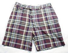 Mens Polo Ralph Lauren Authentic Indian Madras Shorts Sz 33 100% Cotton
