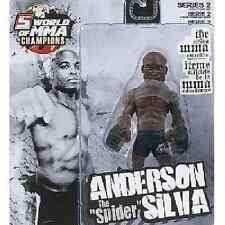 "Round 5 Figure - Anderson ""The Spider"" Silva - WOMMA Series 2"