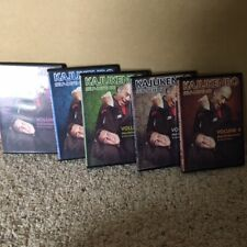 Kajukenbo Self Defense Black Belt DVD Set Kenpo JKD Jeet Kune Do Joe Halbuna