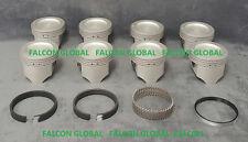 Sealed Power Oldsmobile/Olds 350/5.7 Cast Piston+MOLY Ring Kit 1968-80 +60