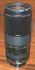 JC Penny Multi Coated Optics 1:4 80-200mm Professional Macro Black Camera Lens