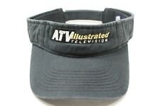 ATV ILLUSTRATED TELEVISON - FADED STYLE - ONE SIZE ADJUSTABLE SUN VISOR!