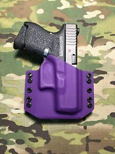 Purple Kydex Holster for Glock 26/27