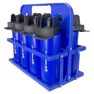 Palle Sport - Hygiene Water Bottle - 8-Bottle Bundle - 1-Ltr - Blue or Clear