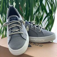Sperry Top-Sider Women's Crest Vibe Sneaker Linen Grey